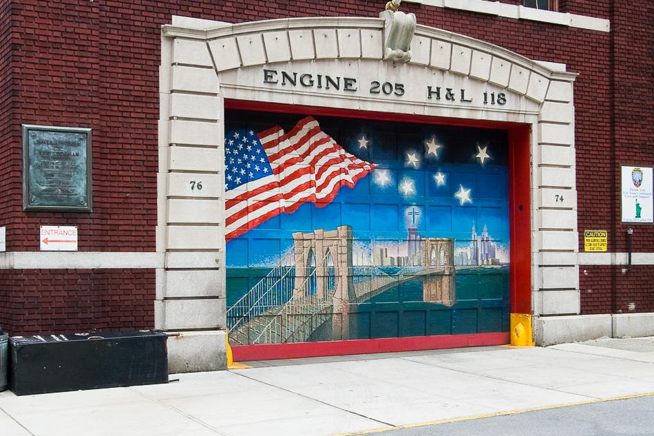 911 Firehouse Door