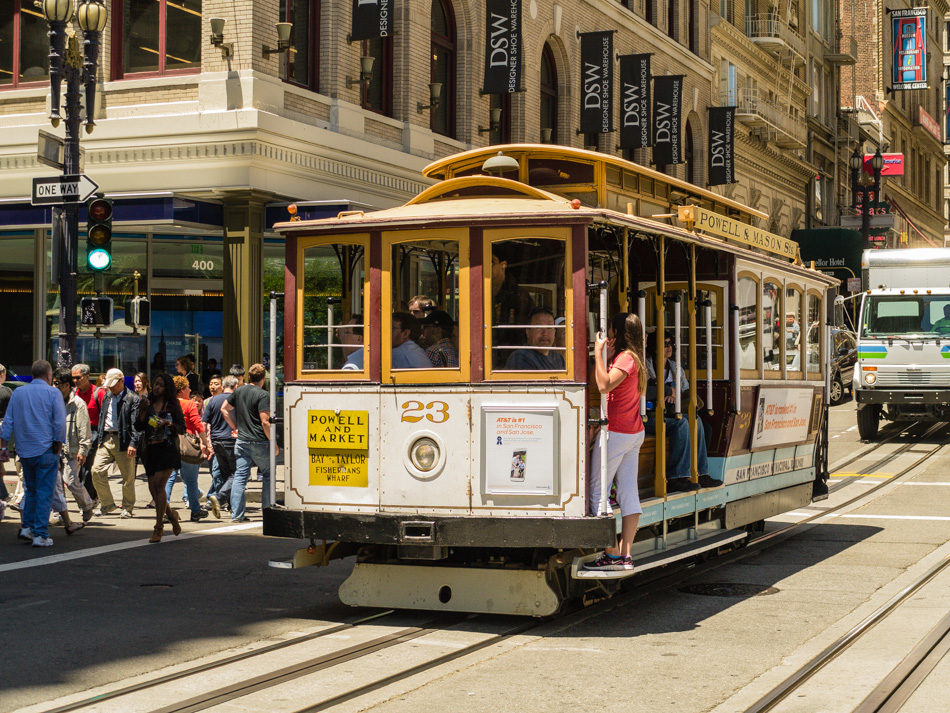 Cable Car Rider