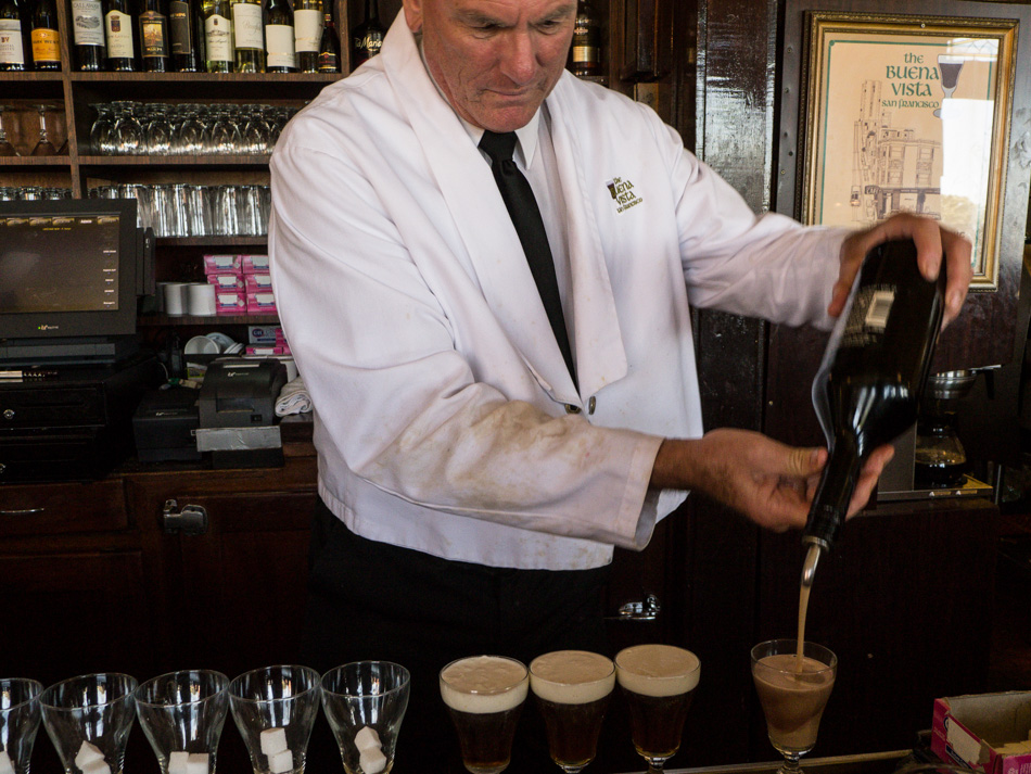 Dave the Irish Coffee King
