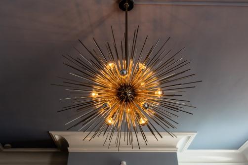 """Sputnik"" chandelier"